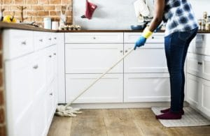 House cleaning to prevent allergies